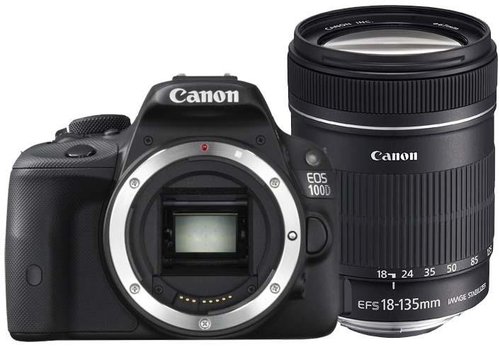 Fotocamera Digitale Reflex Canon EOS 100D Kit + 18-135mm IS STM
