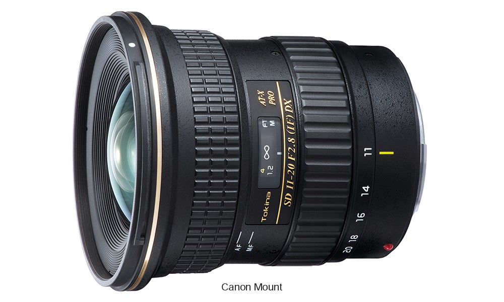 Obiettivo Tokina AT-X 11-20 PRO DX (Canon)