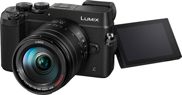 Panasonic Lumix DMC-GX8 Kit 14-140mm Black  (Menù Inglese)
