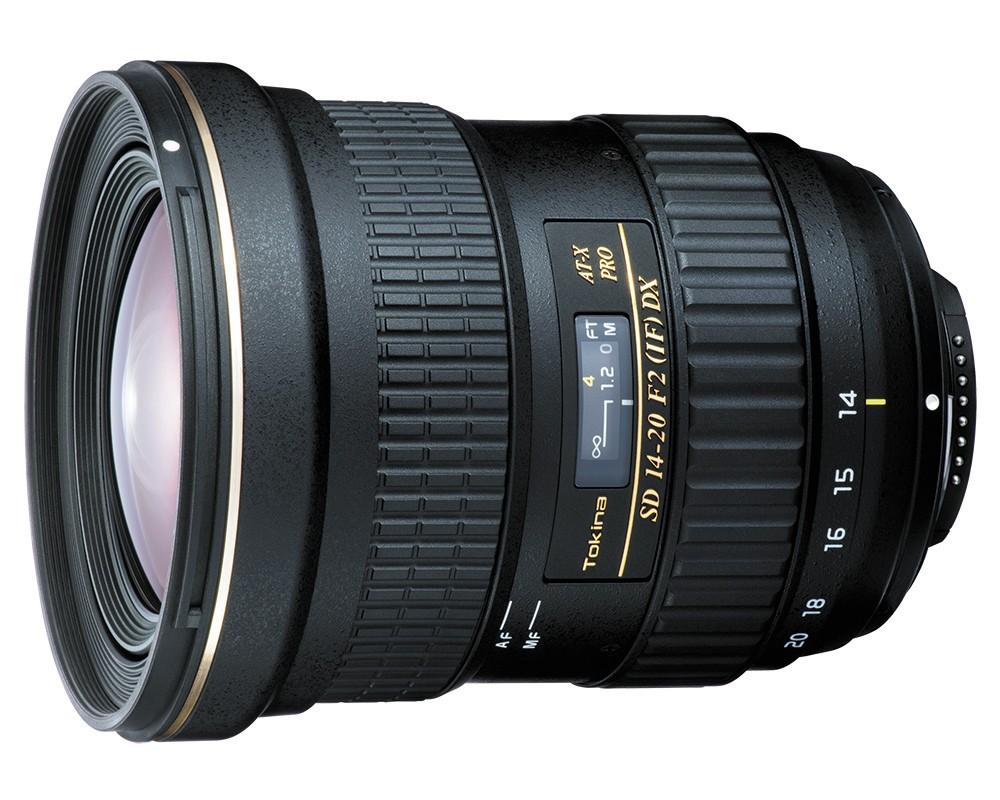 Obiettivo Tokina AT-X 14-20mm F2 PRO DX (Nikon)