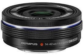 Obiettivo Olympus 14-42mm f/3.5-5.6 EZ Black