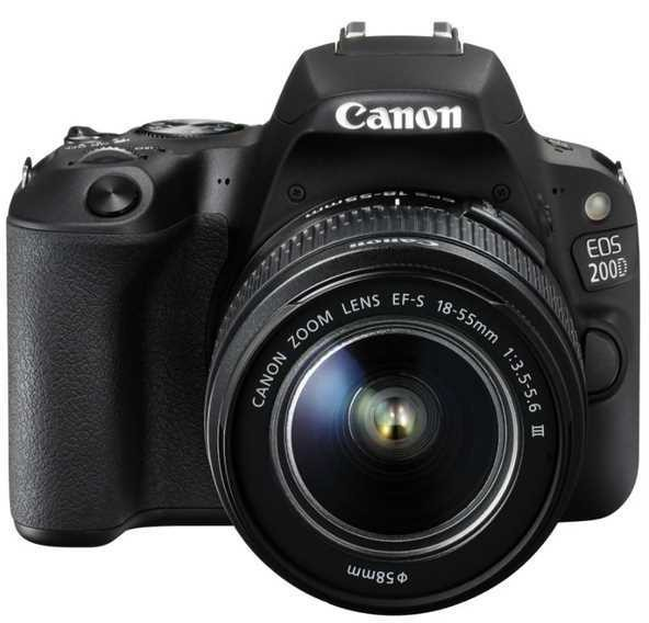 Fotocamera Digitale Reflex Canon EOS 200D Kit + 18-55mm DC III