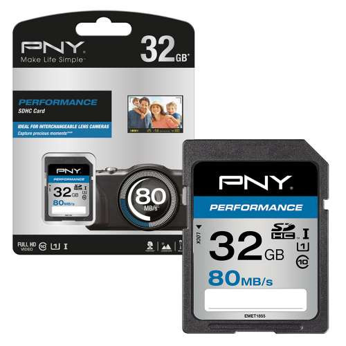 Scheda SDHC Pny Performance 32GB