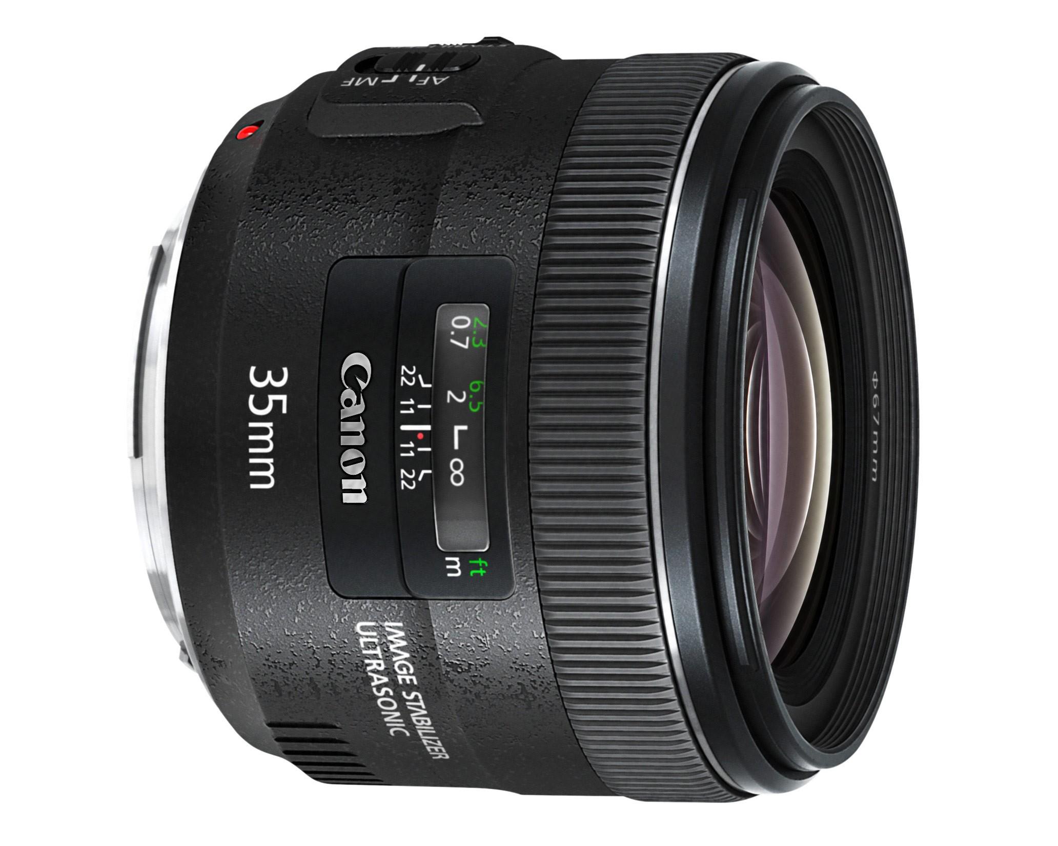 Obiettivo Canon EF 35mm f/2 IS USM