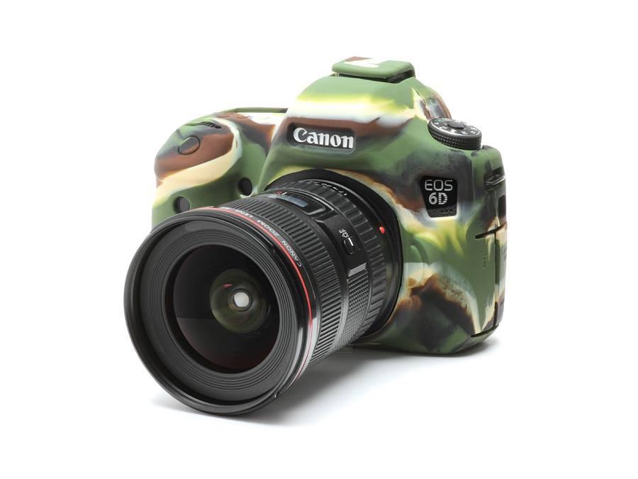 Camera Armor easyCover Silicone mimetico Canon 6D
