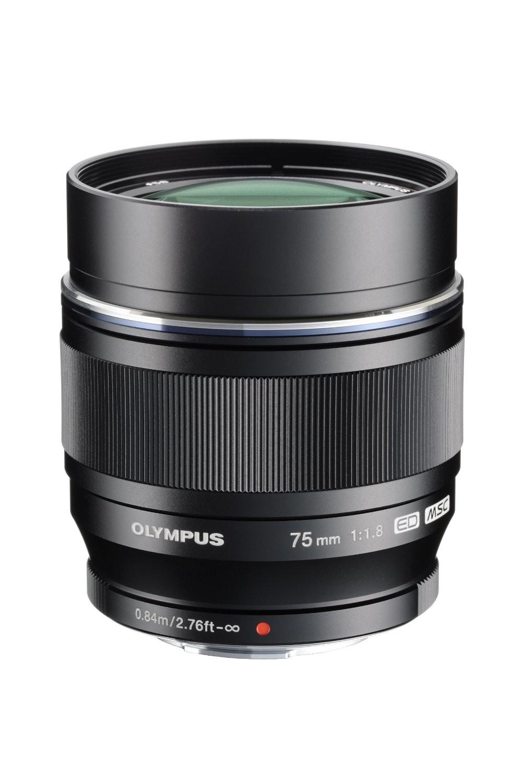 Olympus M.ZUIKO DIGITAL ED 75mm F1.8 (Black)