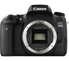 Fotocamera Digitale Reflex Canon EOS 760D Body (Solo Corpo Macchina) Black
