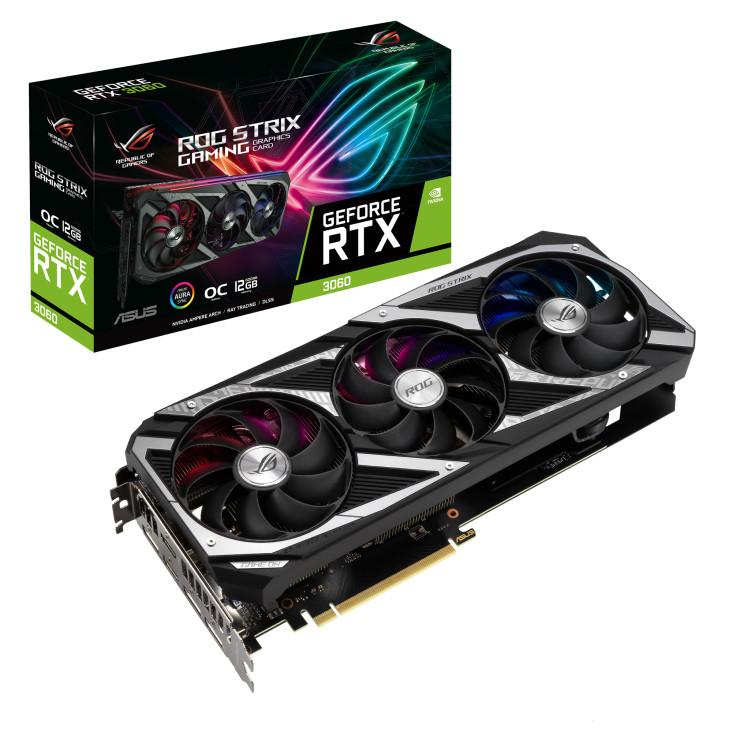 Scheda grafica ASUS ROG Strix GeForce RTX 3060 Gaming