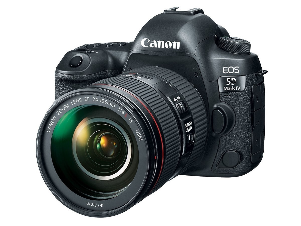 Fotocamera Digitale Reflex Canon EOS 5D Mark IV Kit + EF 24-105mm f/4.0 L IS