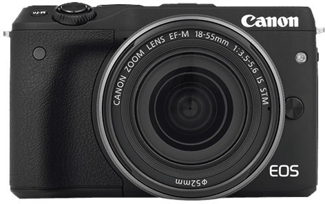 Fotocamera Digitale Mirrorless Canon EOS M3 Kit + 18-55mm IS STM Black