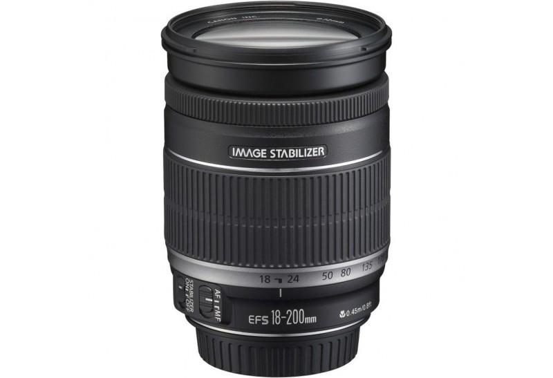 Obiettivo Canon EF-S 18-200mm f/3.5-5.6 IS