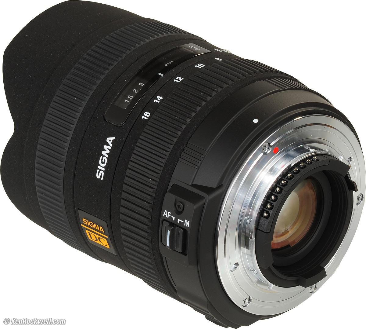 Obiettivo Sigma 8-16mm f/4.5-5.6 DC HSM (Nikon)