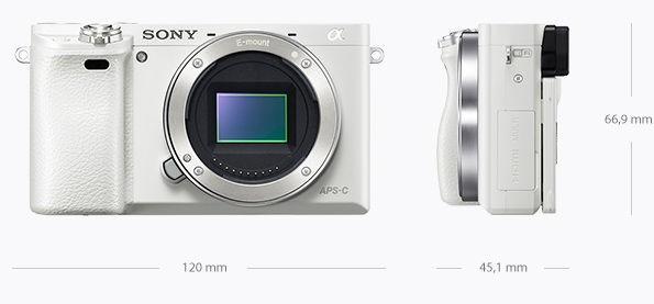 Fotocamera Mirrorless Sony A6000 Body (Solo Corpo) ILCE-6000 White