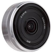 Obiettivo Sony SEL 16-50mm f/3.5-5.6 OSS PZ (SELP1650) E-Mount Silver