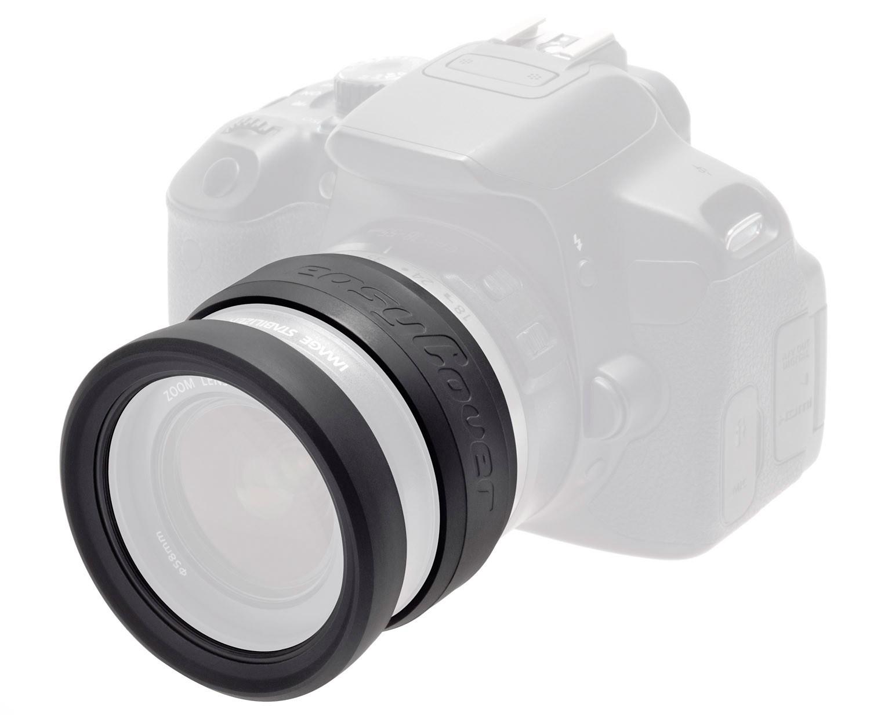 Paraurti per obiettivo easyCover Lens Rim 72mm black