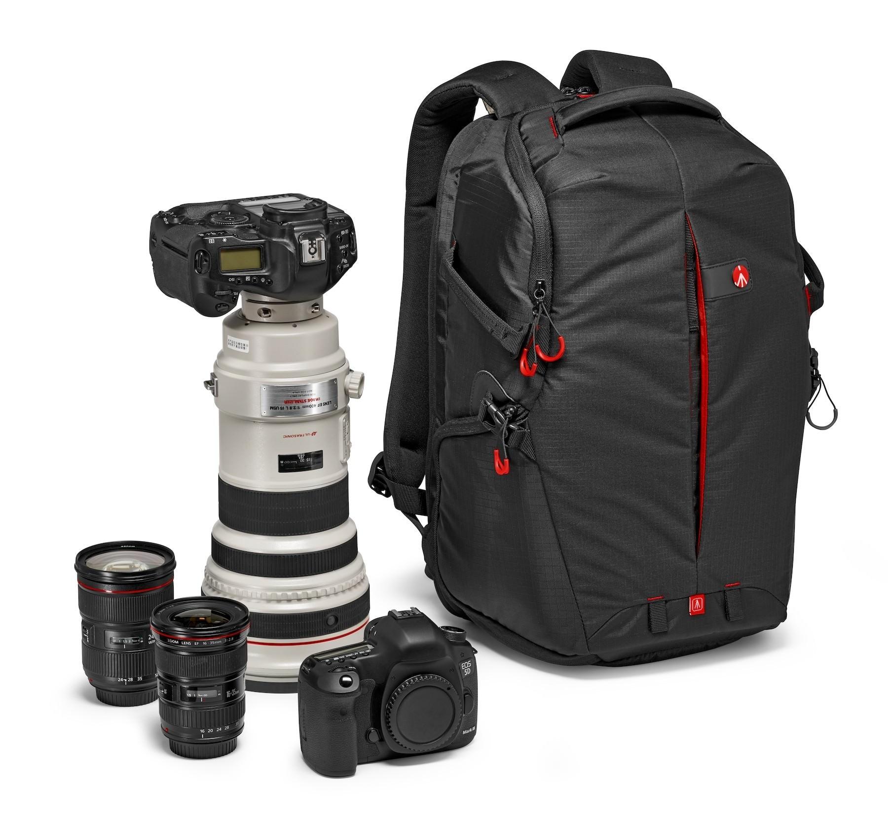Manfrotto Zaino rear backpack per reflex ed obiettivi