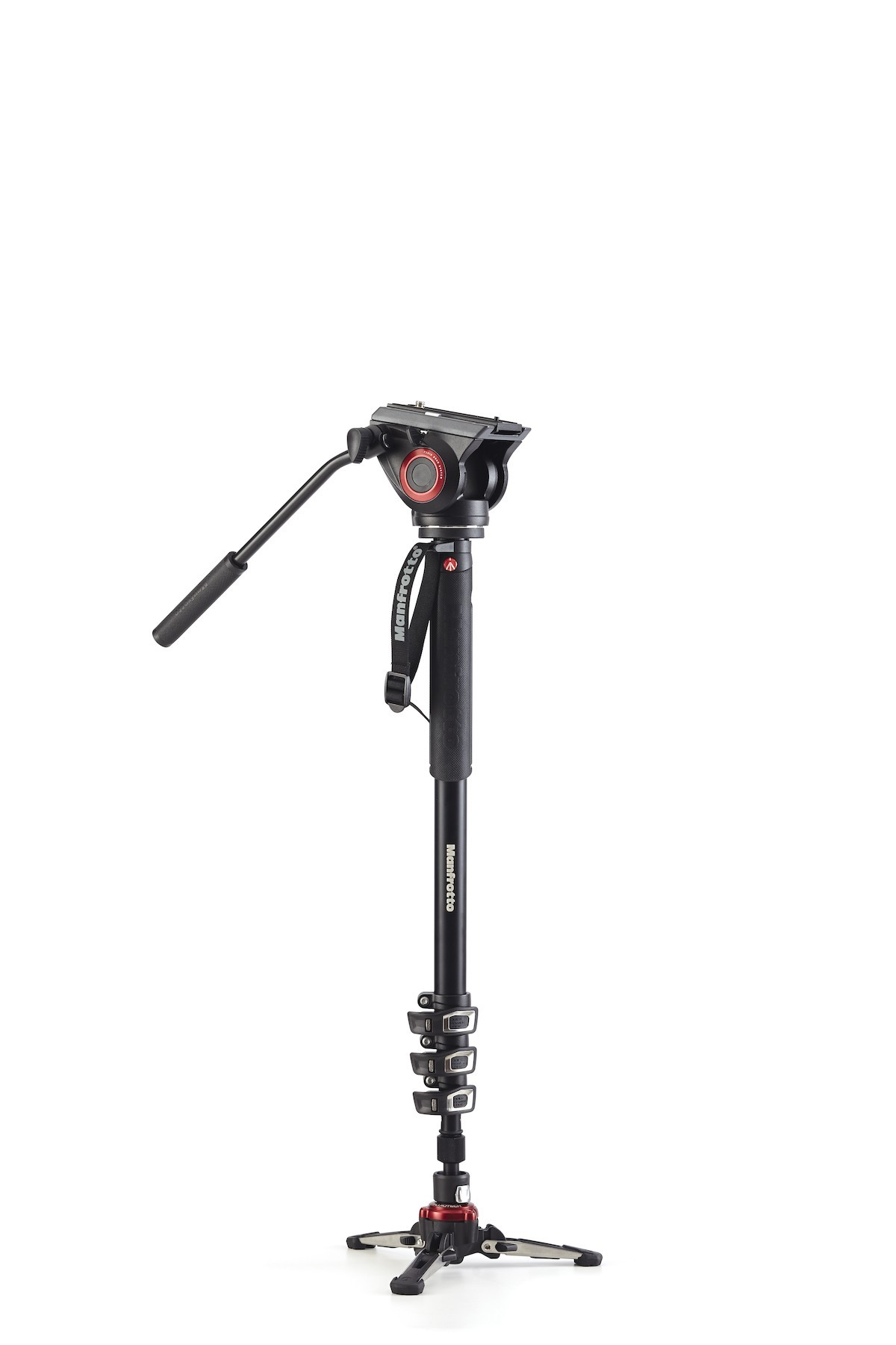 Manfrotto Monopiede video MVMXPRO500 XPRO+ con base fluida e testa video