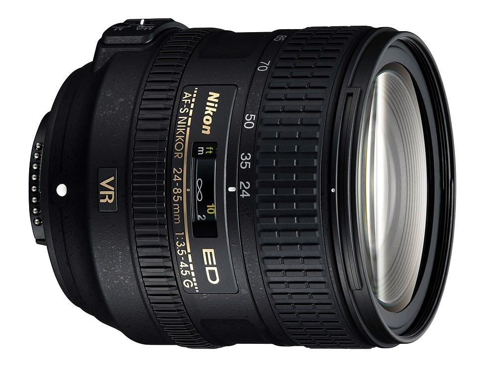 Obiettivo Nikon AF-S 24-85mm f/3.5-4.5 G ED VR