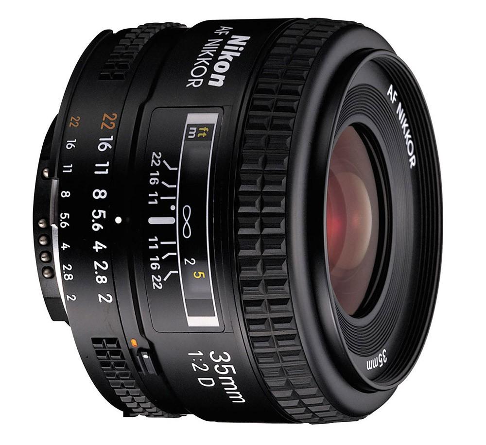 Obiettivo Nikon Nikkor AF Nikkor 35mm f/2D