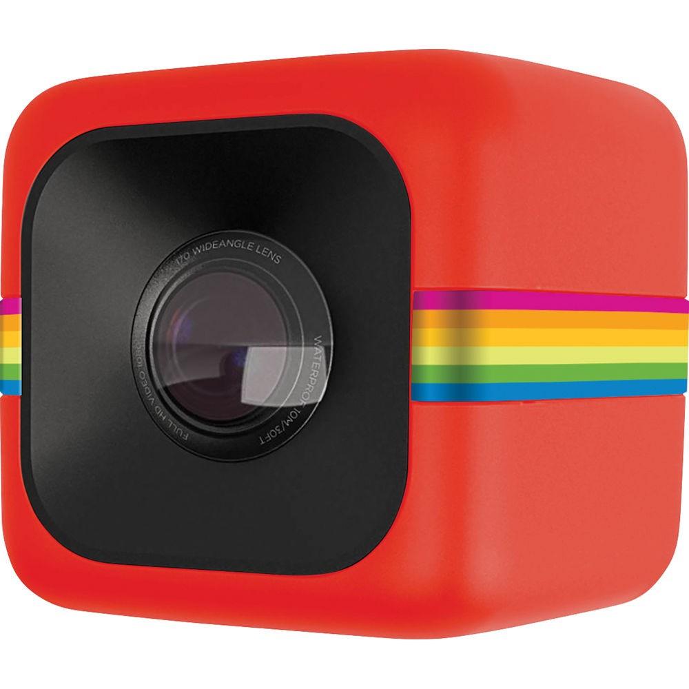 Polaroid Cube Action Camera (6MP) Red (no WiFi)