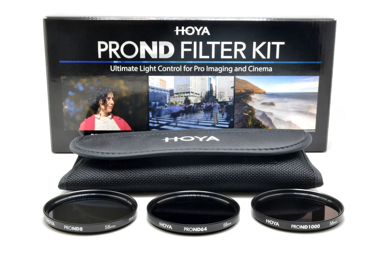 Hoya 67mm PRO ND FILTER KIT 8/64/1000