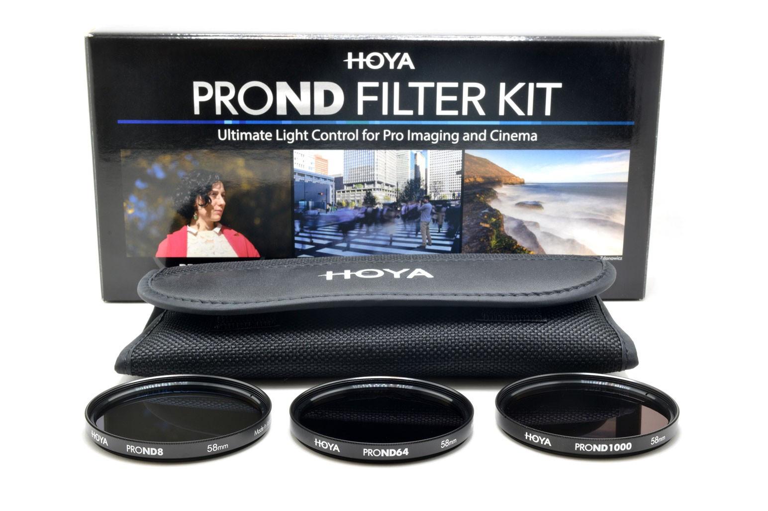 Hoya 77mm PRO ND FILTER KIT 8/64/1000