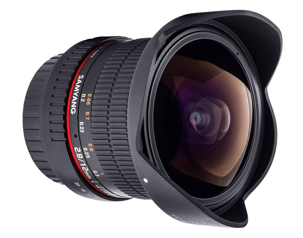 Samyang 12mm f/2.8 ED AS NCS Fish-eye (Nikon AE) Garanzia FOWA 5 anni