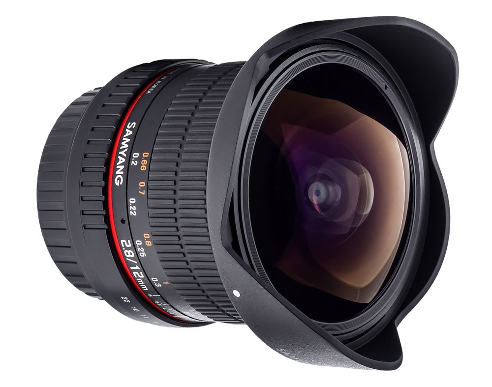 Samyang 12mm f/2.8 ED AS NCS Fish-eye (Canon) Garanzia FOWA 5 anni