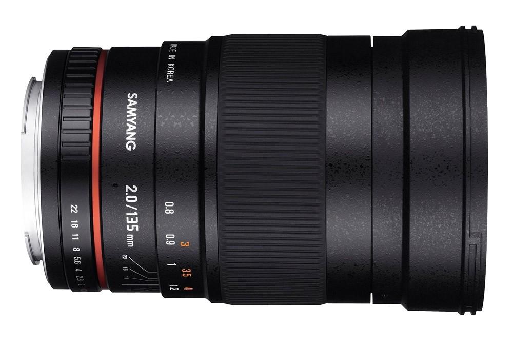 Samyang 135mm f/2.0 ED UMC (Sony A) Garanzia FOWA 5 anni