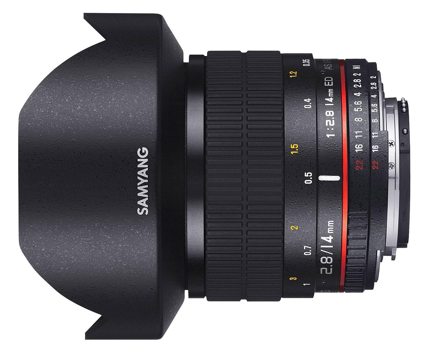 Samyang 14mm 2.8 Aspherical ED AS IF UMC (Nikon) Garanzia FOWA 5 anni