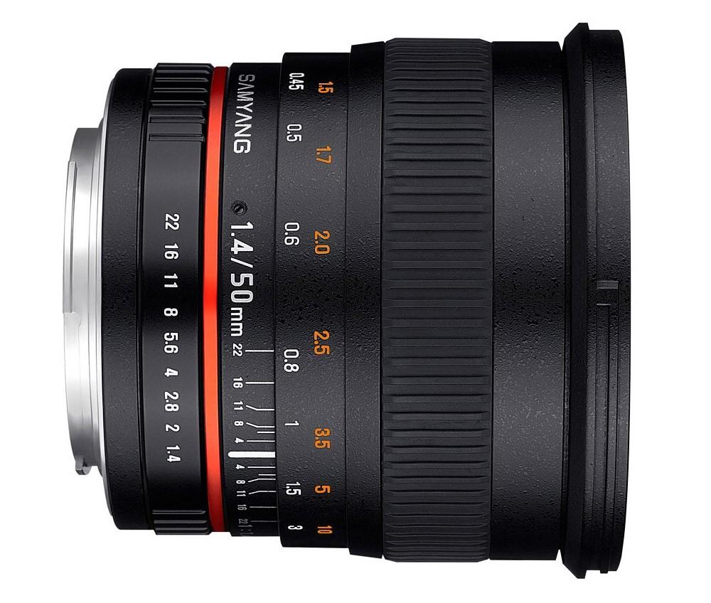 Samyang 50 mm f/1.4 AS UMC AE (Nikon)Garanzia FOWA 5 anni