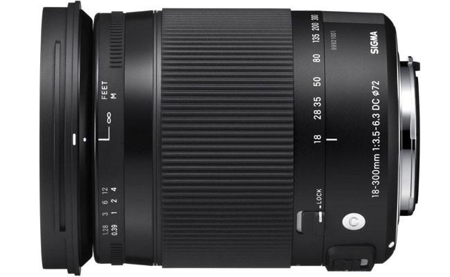 Obiettivo Sigma 18-300mm f/3.5-6.3 DC MACRO OS HSM Contemporary (Canon)