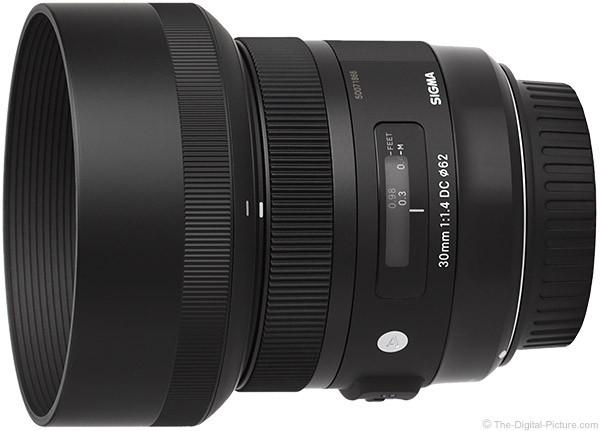 Obiettivo Sigma 30mm F1.4 EX DC HSM Art (Canon)