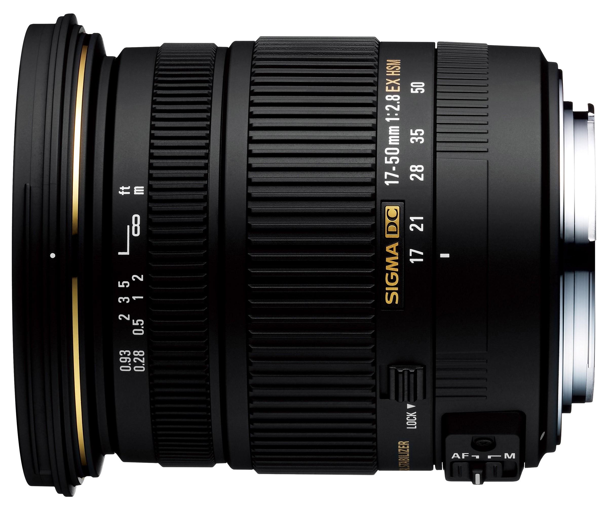 Obiettivo Sigma 17-50mm f/2.8 EX DC OS HSM (Nikon)