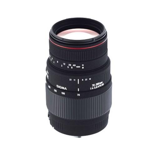 Obiettivo Sigma APO 70-300mm f/4-5.6 DG MACRO (Nikon)