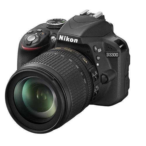 Fotocamera Digitale Reflex Nikon D3300 Kit + 18-105mm Nikon VR