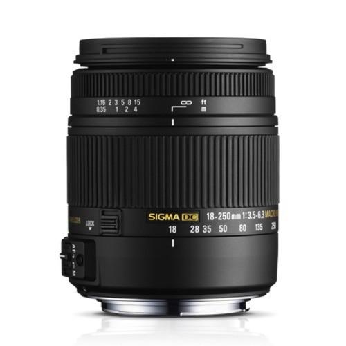 Obiettivo Sigma 18-250mm f/3.5-6.3 DC MACRO OS HSM (Canon)