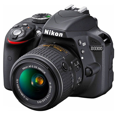 D3300 Kit + AF-S 18-55mm Nikon VR II