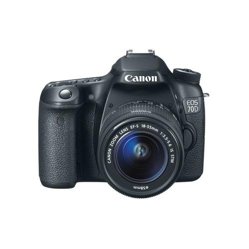 Fotocamera Digitale Reflex Canon EOS 70D Kit + 18-55mm IS STM