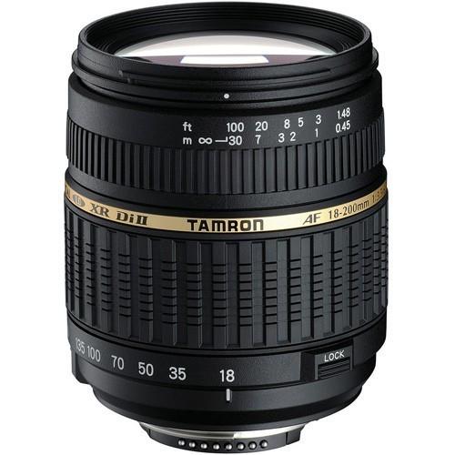 Tamron AF 18-200mm f/3.5-6.3 XR Di II x Nikon