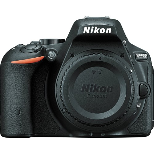 Fotocamera Digitale Reflex Nikon D5500 Body (Solo Corpo Macchina) Black