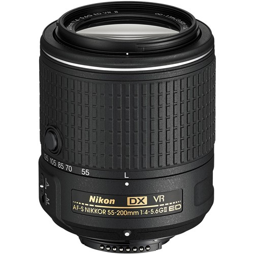 Obiettivo Nikon Nikkor AF-S DX 55-200mm f/4-5.6 VR II