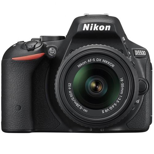 Fotocamera Digitale Reflex Nikon D5500 Kit + AF-S 18-55mm Nikon VR II