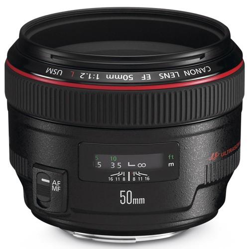 Obiettivo Canon EF 50mm f/1.2 L USM