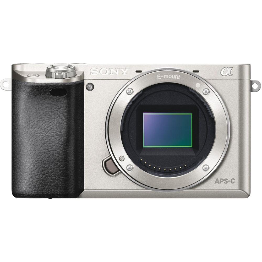 Fotocamera Mirrorless Sony A6000 Body (Solo Corpo) ILCE-6000 Silver