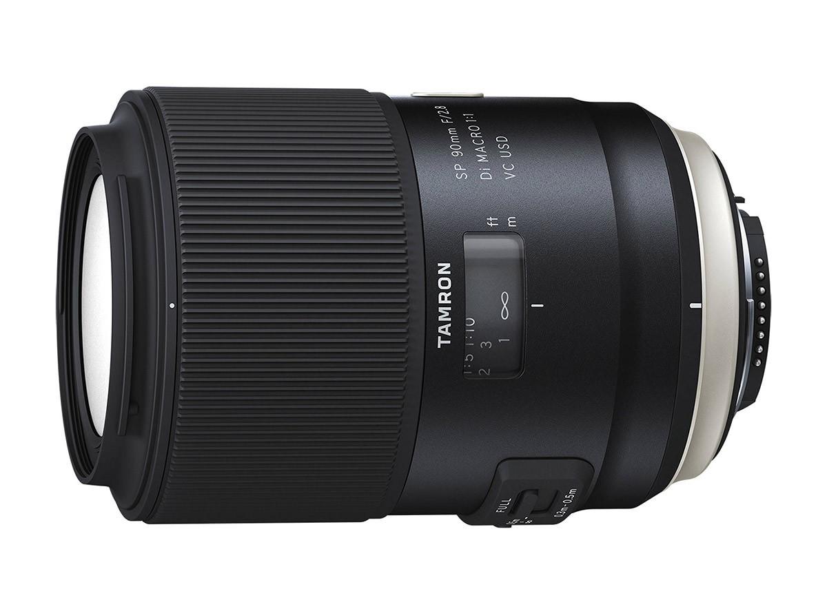 Obiettivo Tamron SP 90mm f/2.8 Di MACRO VC USD (F017) (Canon)