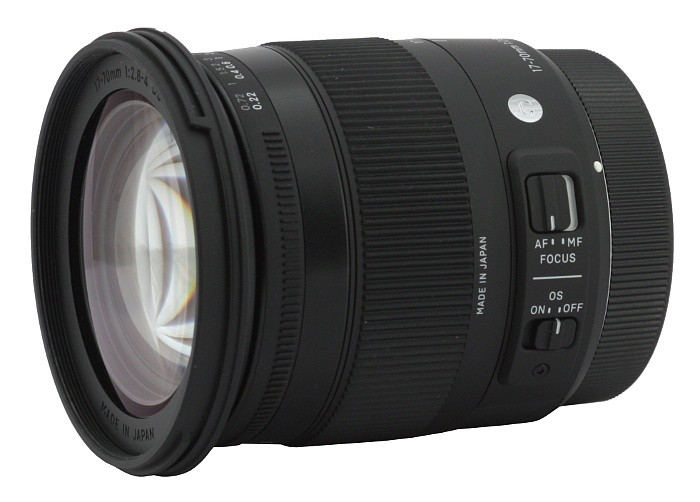 Obiettivo Sigma 17-70mm f/2.8-4 (C) DC OS HSM Macro Contemporary (Nikon)