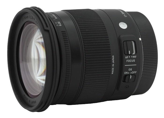 Obiettivo Sigma 17-70mm f/2.8-4 (C) DC OS HSM Macro Contemporary (Canon)