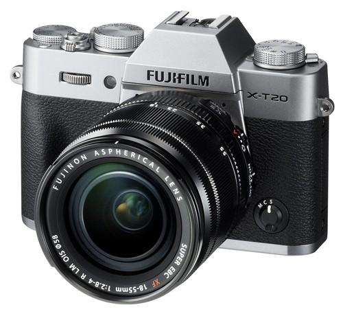 Fotocamera Mirrorless Fujifilm Finepix X-T20 Kit 18-55mm Silver Garanzia Fujifilm Italia