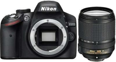 Fotocamera Digitale Reflex Nikon D3200 Kit + 18-140mm Nikon VR